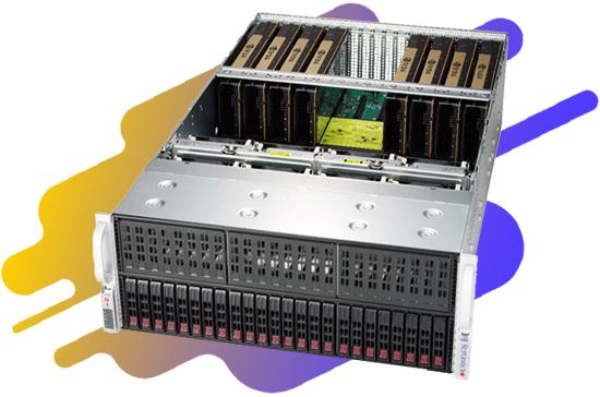 RTX Server Images et technolgoie